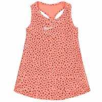 Nike Рокля За Момиченца Dri Fit Toss Dress Infant Girls Red Детски поли и рокли