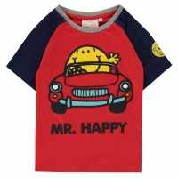 Character Тениска T Shirt Mr Happy Детски ризи