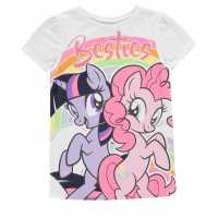 Character Short Sleeve T-Shirt Infant Girls My Little Pony Детски тениски и фланелки
