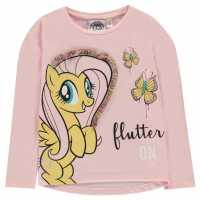 Character Горнище С Дълъг Ръкав Long Sleeve Top Infant Girls My Little Pony Детски тениски и фланелки