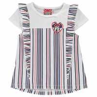 Character Vest Dress Girls Minnie Mouse Детски потници