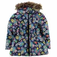 Character Подплатено Палто Дечица Padded Coat Infant Girls My Little Pony Детски якета и палта