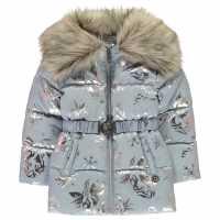 Character Ватирано Яке Frozen 2 Fur Collar Padded Jacket Infants  Детски якета и палта