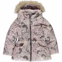 Character Подплатено Палто Дечица Padded Coat Infant Girls Frozen Детски якета и палта