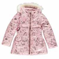 Character Подплатено Палто Дечица Padded Coat Infant Girls Disney Princess Детски якета и палта