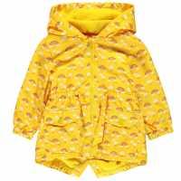 Crafted Essentials Rain Mac Infant Girls Yellow Детски якета и палта