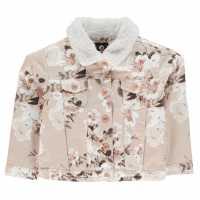 Firetrap Яке Момичета Lined Denim Jacket Infant Girls  Детски якета и палта