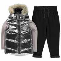 Character Gilet Set Girls Frozen Детски якета и палта