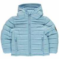 Soulcal Яке Момичета Micro Bubble Jacket Infant Girls Bluebell Детски якета и палта