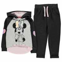 Character Jog Set Infants Minnie Mouse Детски полар
