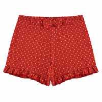 Crafted Essentials Infant Girls Shorts Red Polka Dot Детски къси панталони