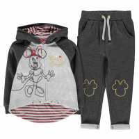 Character Jogging Set Infant Girls Disney Minnie Детски полар