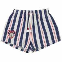 Character Детски Шорти За Момиче Shorts Infant Girls Minnie Mouse Детски къси панталони