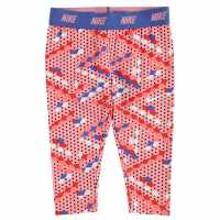 Nike Dri Fit Essential Pants Infant Girls Bright Melon Бебешки дрехи