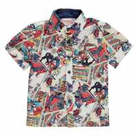 Character Short Sleeve Shirt Infants Avengers Детски ризи
