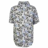 Thomas Royall Children Boys Tiger Shirt Multi Детски ризи