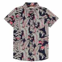 Sale Soulcal Short Sleeve Shirt Infant Boys Summer Fern Детски ризи