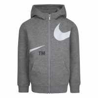 Nike Badge Sweatshirt Junior Boys D.Grey Heather Детски суитчъри и блузи с качулки