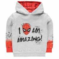 Character Oth Hoodie Infant Boys Spiderman 2 Детски суитчъри и блузи с качулки