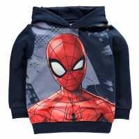 Character Oth Hoodie Infant Boys Spiderman Детски суитчъри и блузи с качулки