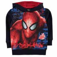 Character Oth Hood Infant Boys Spiderman Детски суитчъри и блузи с качулки