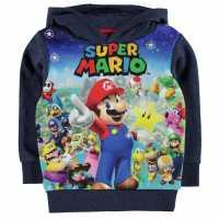 Character Oth Hood Infant Boys Nintendo Детски суитчъри и блузи с качулки