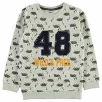 Crafted Crew Neck Sweater Child Boys Ecru Wild&Free Детски горнища и пуловери