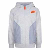 Crafted Пуловер Малки Момчета Crew Sweater Infant Boys Grey AOP Детски горнища и пуловери