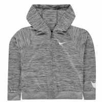 Nike 360 Full Zip Hoodie Infant Girls Smoke Grey Детски суитчъри и блузи с качулки