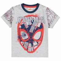 Character Short Sleeve T-Shirt Infant Boys Spiderman Детски тениски и фланелки