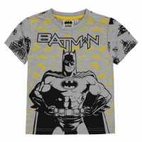 Character Short Sleeve T-Shirt Infant Boys Batman Детски тениски и фланелки