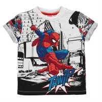 Character Тениска Малко Момче Sub T Shirt Infant Boys Spiderman Детски тениски и фланелки