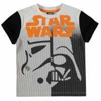 Character Тениска Малко Момче Sub T Shirt Infant Boys Star Wars Детски тениски и фланелки