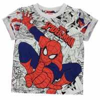 Character Тениска Short Sleeve T Shirt Boys Spiderman Детски тениски и фланелки