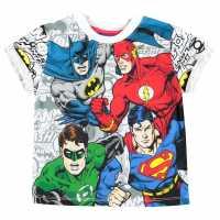 Character Детска Тениска Short Sleeve T Shirt Infant Boys DC Comics Детски тениски и фланелки