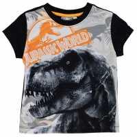 Character Детска Тениска Short Sleeve T Shirt Infant Boys Jurassic World Детски тениски и фланелки