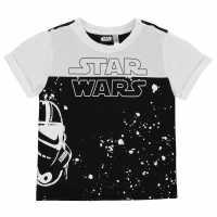 Character Тениска Short Sleeve T Shirt Boys Star Wars Детски тениски и фланелки