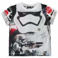 Character Детска Тениска Short Sleeve T Shirt Infant Boys Star Wars 2 Детски тениски и фланелки