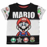 Character Детска Тениска Short Sleeve T Shirt Infant Boys Nintendo 2 Детски тениски и фланелки