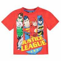 Character Детска Тениска Short Sleeve T Shirt Infant Boys DC Comics 2 Детски тениски и фланелки