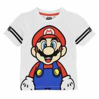 Character Детска Тениска Short Sleeve T Shirt Infant Boys Nintendo 3 Детски тениски и фланелки