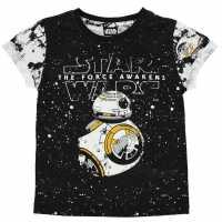 Character Детска Тениска Short Sleeve T Shirt Infant Boys Star Wars 3 Детски тениски и фланелки
