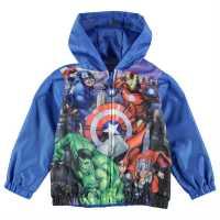 Character Rain Mac Infant Boys Avengers Детски якета и палта