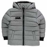 Character Подплатено Палто Дечица Padded Coat Infant Boys Batman Детски якета и палта