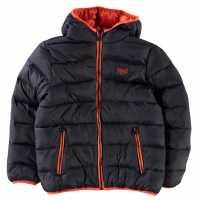 Everlast Яке Малки Момчета Bts Bubble Jacket Infant Boys Nvy/Org Детски якета и палта