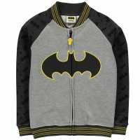 Character Яке Малки Момчета Baseball Jacket Infant Boys Batman Детски полар