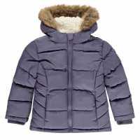 Soulcal Яке За Невръстни Деца Bubble Jacket Infants Purple Детски якета и палта