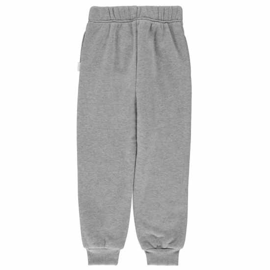 Lee Cooper Cut And Sew Jogging Suit Infant Boys Grey Marl Детски полар