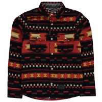 Oneill Фланелена Риза Lb Flannel Shirt Boys Red Детски ризи