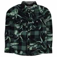 Oneill Фланелена Риза Lb Flannel Shirt Boys Green Детски ризи
